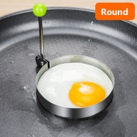 Fancy Creative Kitchen Tool Egg Fry Mold - Round