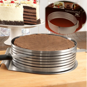 Adjustable Round Stainless Steel Pastry Tools Mousse Cake Ring