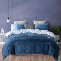 Ombre Designed Print Queen / Double Size, Duvet Cover, Bed Sheet Set of 6 Pieces
