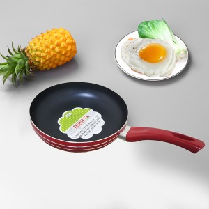 Best Quality Non Stick Fry Pan 24cm - Red