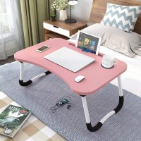 High Quality Laptop Ipad Table Desk - Light Pink