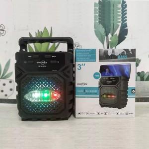 Good Sound Rechargeable High Bass Usb Bluetooth Speaker - Black