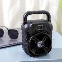 Wireless Portable Rechargeable High Bass Usb Bluetooth Speaker - Black