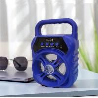 Wireless Portable Rechargeable High Bass Usb Bluetooth Speaker - Blue