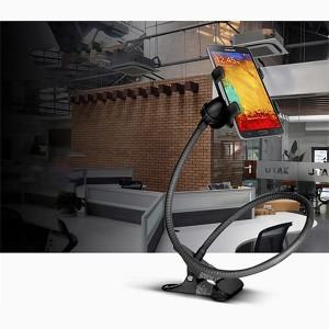 Lazy Bracket Mobile Phone Rotatable Mount Holder - Black