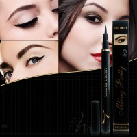 Waterproof Long Lasting Quick Drying Smooth Eye Liner Pencil - Black