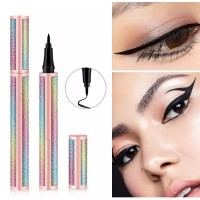 Long Lasting Smudge Proof Cosmetic Liquid Pencil Eyeliner - Black