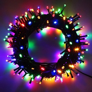 300 Pcs High Length Super Bright Decoration Lights - Multi Color