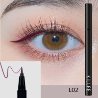 Matte Liquid Waterproof Long Lasting Eyeliners 02 - Maroon