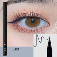 Matte Liquid Waterproof Long Lasting Eyeliners 03 - Blue