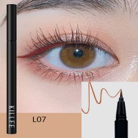 Matte Liquid Waterproof Long Lasting Eyeliners 07 - Orange