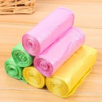 6 Pcs Pack Garbage Bags - Multi Color