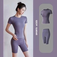Running Gym Sports Yoga Suit - Purple
