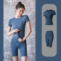 Running Gym Sports Yoga Suit - Blue