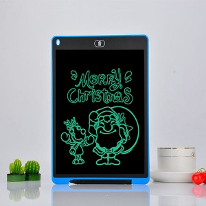 8.5 Inch Lcd Writing Drawing Board For Kids - Blue