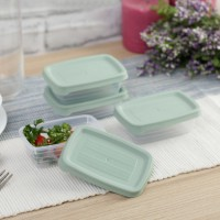 Multi Use Spectra Food Storage 4 Piece Container Set