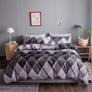 Geometric Design Set of 6 Pieces Bed Sheets