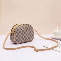 Contrast Designers Zipper Strap Messenger Bag