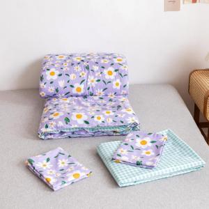 Daisies Design Comforter Set of 4 Pieces