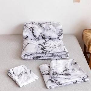 Marble Design Comforter Set of 4 Pieces