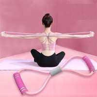 Flexible Muscle Yoga Fitness Elastic Band - Pink
