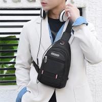 Zipper Closure Adjustable Traveller Unisex Mini Backpacks - Black