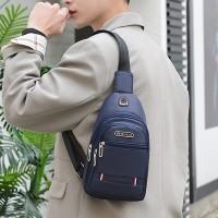 Zipper Closure Adjustable Traveller Unisex Mini Backpacks - Blue