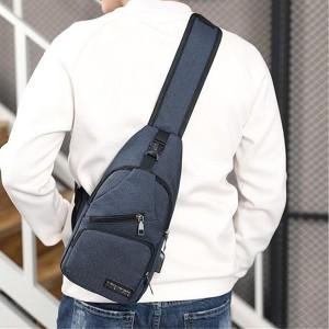 Adjustable Zipper Closure Traveller Unisex Mini Backpacks - Blue