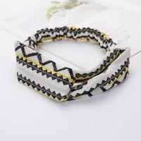 Ladies Cross Wide Elastic Fashion Headband - Multi Color