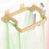 Multipurpose Creative Plastic Kitchen Cabinet Garbage Bag Shelf