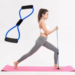 Sports Yoga Elastic Band Resistance Bands - Blue