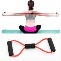 Sports Yoga Elastic Band Resistance Bands - Red