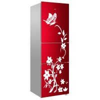 High Quality Bedroom Wardrobe Refrigerator Butterfly Pattern Home Decor Wall Sticker - White