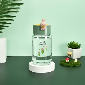 Transparent Twist Closure High Quality Water Stroage Bottle - Green