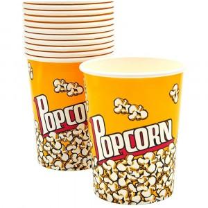Movie Theater Popcorn Cups Reusable Popcorn Bucket Set Of 10 Pcs