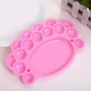 1 Piece of Nail Tools Nail Polish Palette - Pink