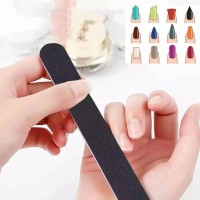 Nail Tools Double Sided Thick Nail Polishing Strip - Black