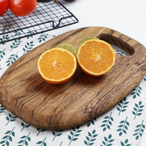 High Quality Wooden Textured Fancy Cutting Board - Brown