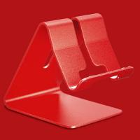Anti-Slip Portable High Quality Mobile Holder - Red