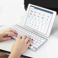 Mini Ultra Slim Wireless Bluetooth Keyboard For Phone Ipad Window Pc