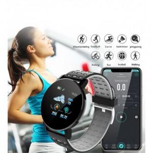 Intelligent Outdoor Heart Rate Monitor Sport Bracelet - Black