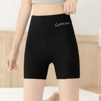 High Waist Sexy Wear Body Fitted Underwear - Black