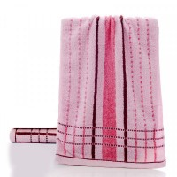 Soft Absorbent Cotton Face Mini Towel One Piece - Pink
