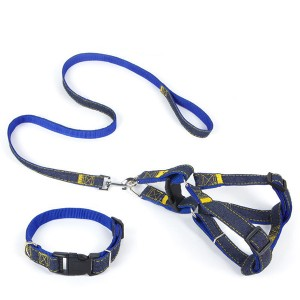 Strapped Pets Controllable Leash Strap - Blue