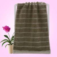 New Design Soft Cotton Large Size Bath Towel - Light Gary