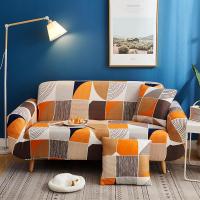 Geometric Printed Stretchable Magic Sofa Covers - 190 - 230cm