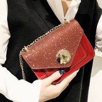 Zipper Women Fashion Fancy Synthetic Leather Bags