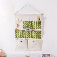Wall Hanging Canvas Made Storage Rack