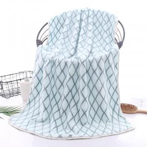 High Quality Microfiber Super Absorbent Bath Towel - Sky Blue