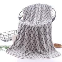 High Quality Microfiber Super Absorbent Bath Towel - Gray